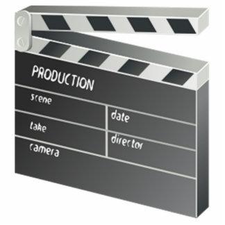 Movie Clapperboard Cutout