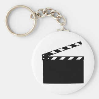 Movie - clapperboard keychain
