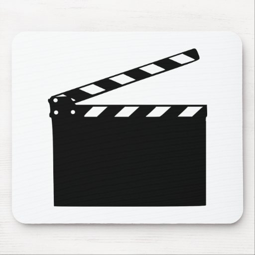 Movie - clapperboard mouse pad