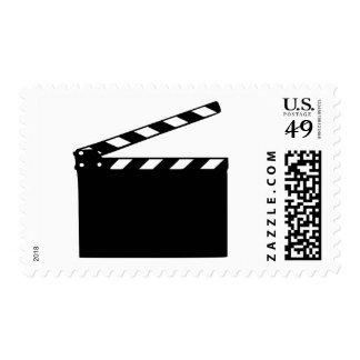 Movie - clapperboard postage