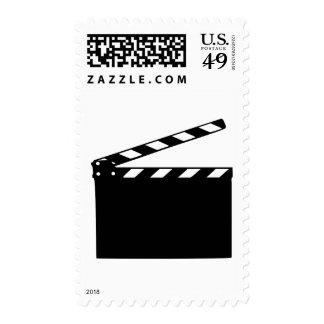 Movie - clapperboard stamp