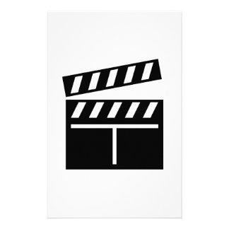 Movie Clapperboard Personalized Stationery