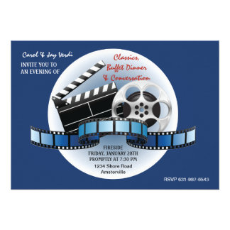 Movie Classics Invitation