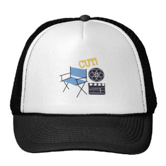 Movie Cut Trucker Hats