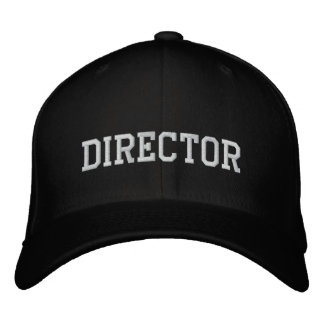 Movie director embroidered baseball cap