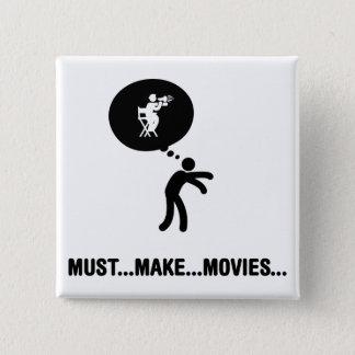 Movie Director Pinback Button