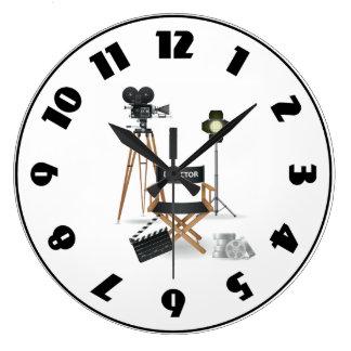 Movie Director Set Clock