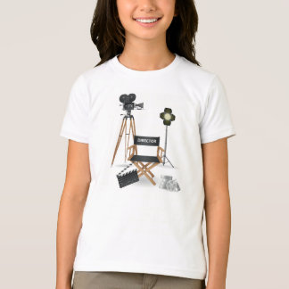 Movie Director Set Girls T-Shirt