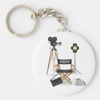 Movie Director Set Keychain