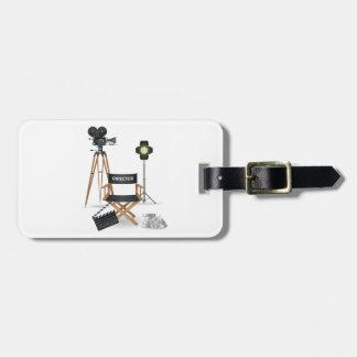 Movie Director Set Luggage Tags