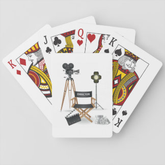 Movie Director Set Playing Cards