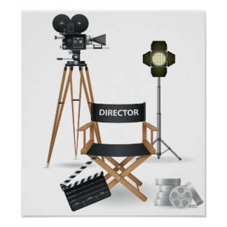 Movie Director Set Poster