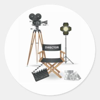 Movie Director Set Stickers