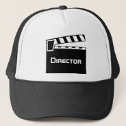 Movie Director's Hat With Clapperboard Slate at Zazzle