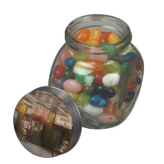 Movie - Double feature 1942 Glass Candy Jar