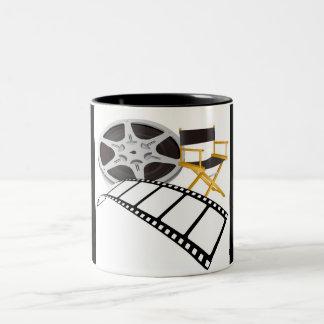 movie equipments Two-Tone coffee mug
