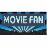 Movie Fan Marquee Photo Cut Out