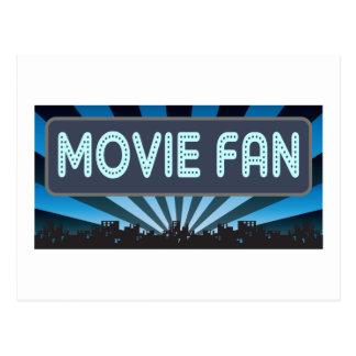 Movie Fan Marquee Postcard