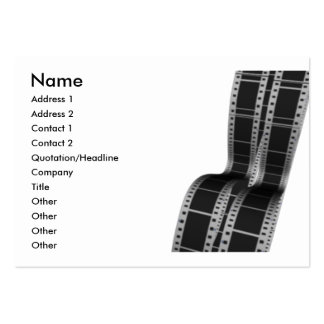 movie_film large business cards (Pack of 100)