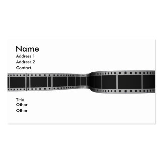 movie_film Double-Sided standard business cards (Pack of 100)