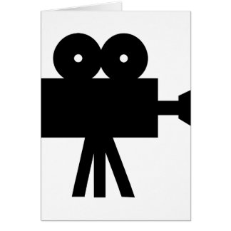 Movie Film Cine Camera Hollywood Card