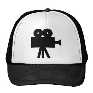 Movie Film Cine Camera Hollywood Trucker Hat