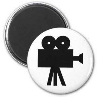 Movie Film Cine Camera Hollywood Magnet