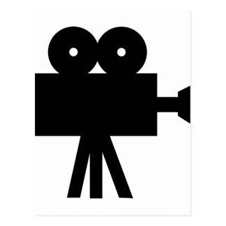 Movie Film Cine Camera Hollywood Postcard