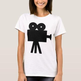 Movie Film Cine Camera Hollywood T-Shirt