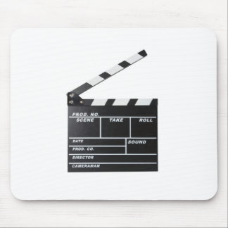 movie film clapperboard mouse pad