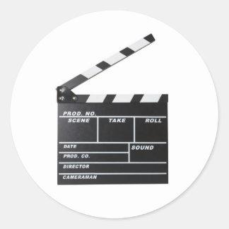 movie film clapperboard stickers
