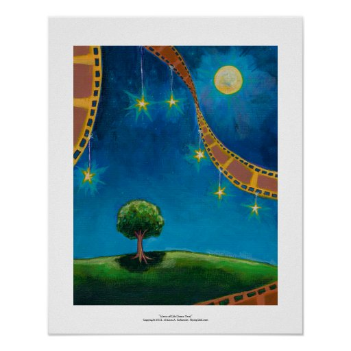 Movie film photography art fun landscape painting posters