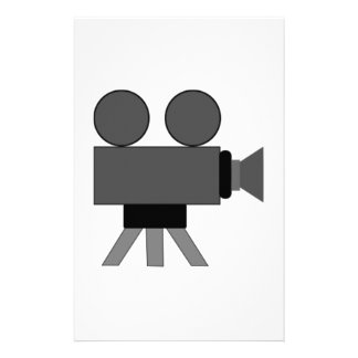 Movie Film Projector Personalized Stationery