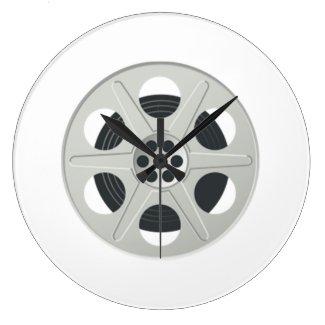 Movie Film Reel Clocks