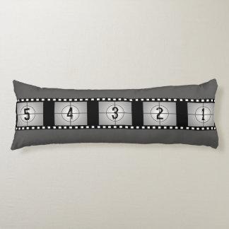 Movie Film Reel Countdown 5 4 3 2 1 Body Pillow