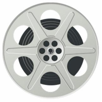 Movie Film Reel Cutout
