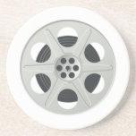Movie Film Reel Drink Coaster