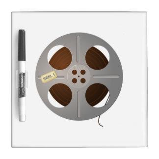 Movie Film Reel Dry Erase Boards