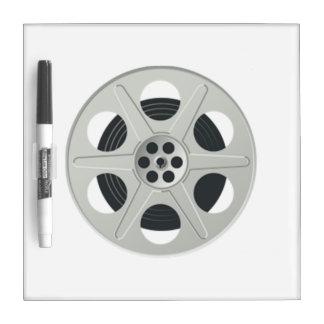 Movie Film Reel Dry Erase Whiteboards