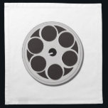 "Movie Film Reel Napkin<br><div class=""desc"">Movie Film Reel</div>"