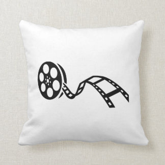 Movie film reel pillows