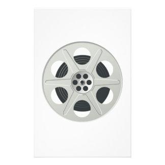 Movie Film Reel Stationery Paper