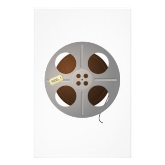 Movie Film Reel Customized Stationery