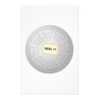 Movie Film Reel Custom Stationery