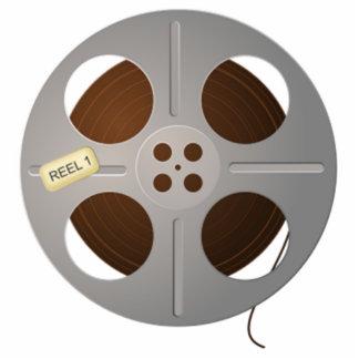 Movie Film Reel Statuette