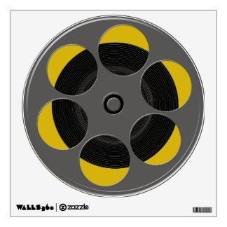 Movie Film Reel Wall Decal