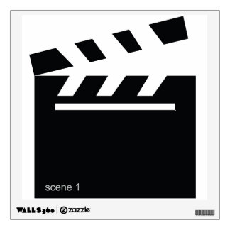 Movie Film Scene Silhouette Wall Sticker