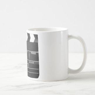 movie film video makers Clapper board design Coffee Mug