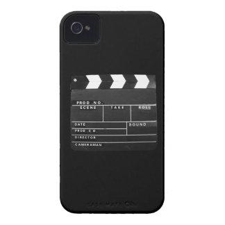 movie film video makers Clapper board design iPhone 4 Case-Mate Case