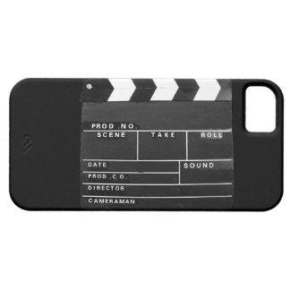 movie film video makers Clapper board design iPhone SE/5/5s Case